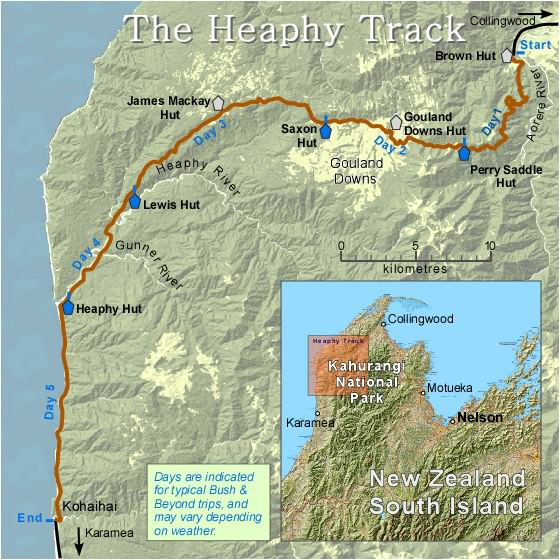 Heaphy-Track-Map2